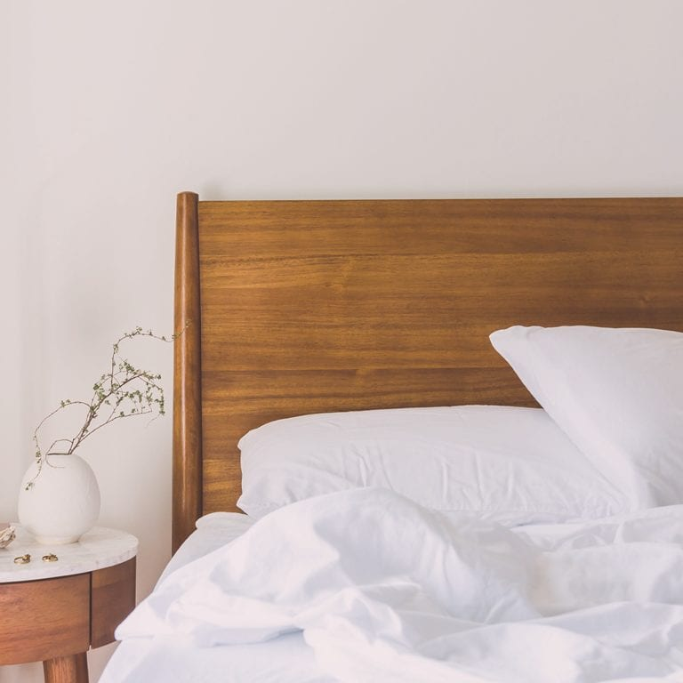 a personal morning routine you'll actually want to do will get you out of bed in the morning.