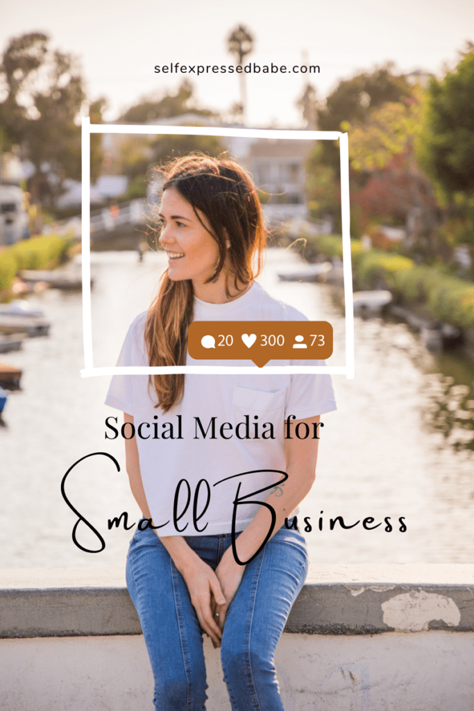 managing social media for small business