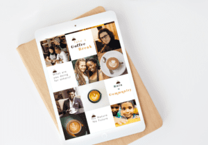 Social Media Project for a Coffee House